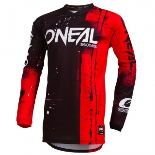 Dres ONeal Element SHRED červená