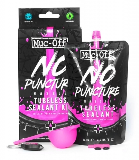 NO PUNCTURE HASSLE TUBELESS SEALANT MUC-OFF 140ML KIT